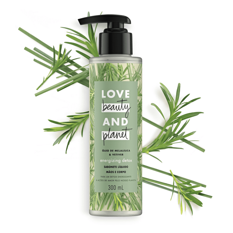 Love Beauty and Planet Energizing Detox - Sabonete Líquido 300ml