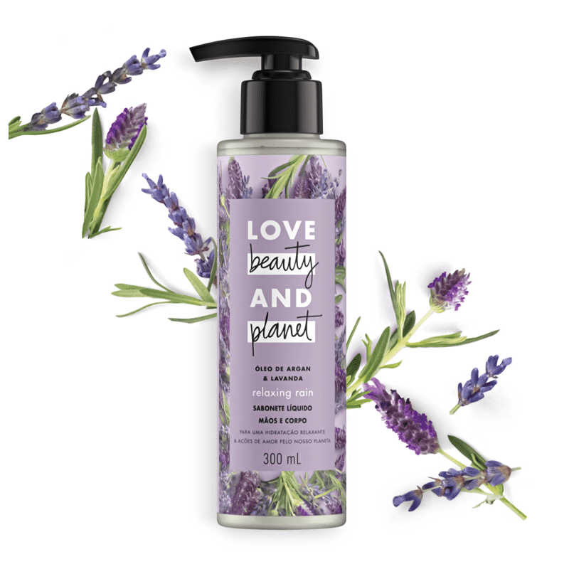 Love Beauty and Planet Relaxing Rain - Sabonete Líquido 300ml