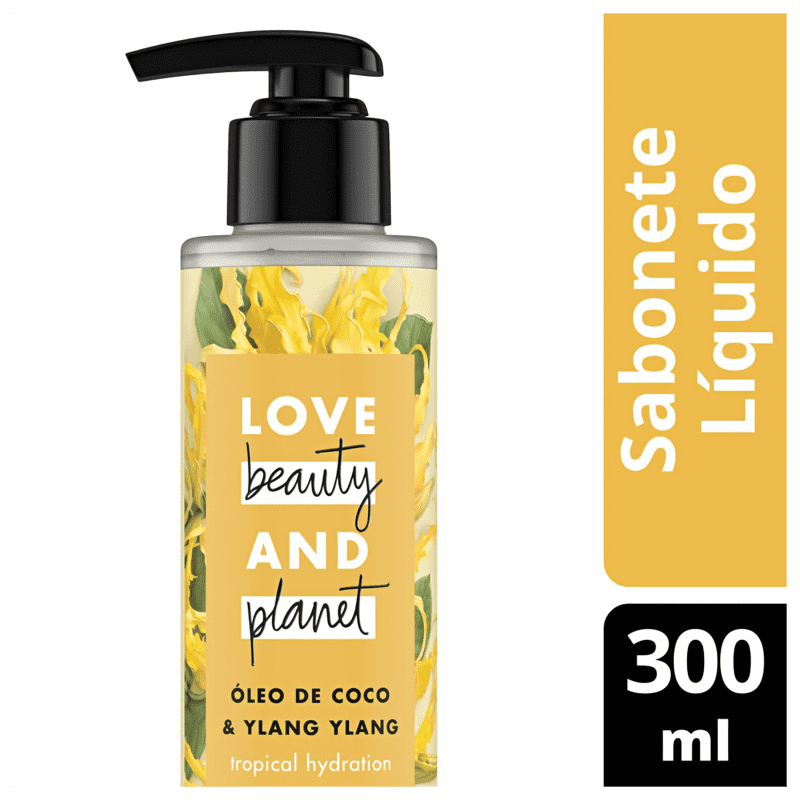 Love Beauty and Planet Tropical Hydration - Sabonete Líquido 300ml