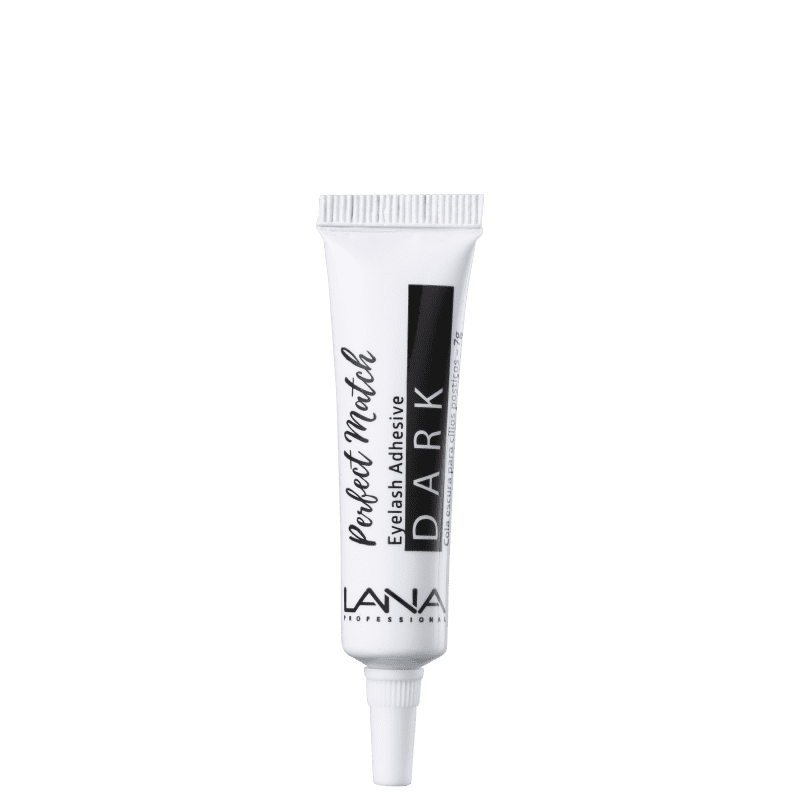 Lana Professional Perfect Match 24h Dark - Cola para Cílios 7g