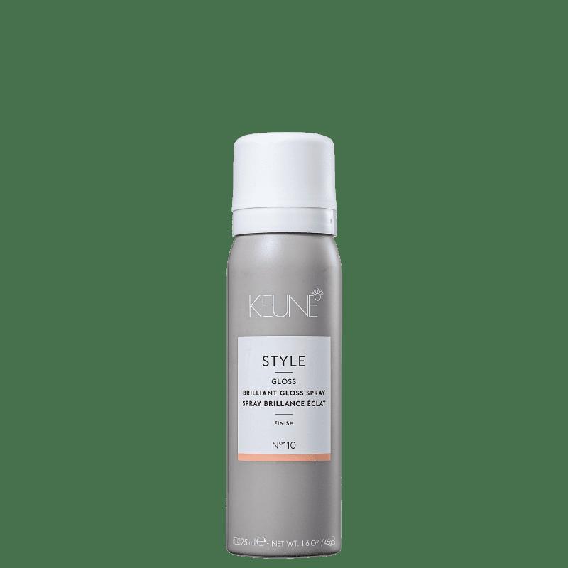 Keune Style Brilliant Gloss - Spray de Brilho 75ml