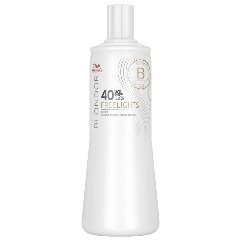 Wella Professionals Blondor Freelights 12% - Oxidante 40 Volumes 1000ml