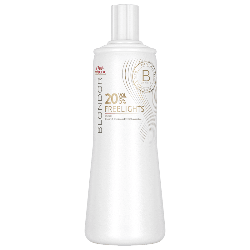 Wella Professionals Blondor Freelights 6% - Oxidante 20 Volumes 1000ml