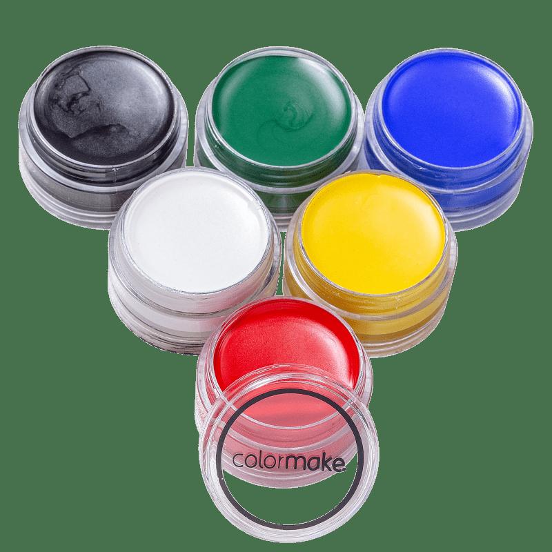 Kit Colormake Tinta Facial Cremosa (6 Unidades)