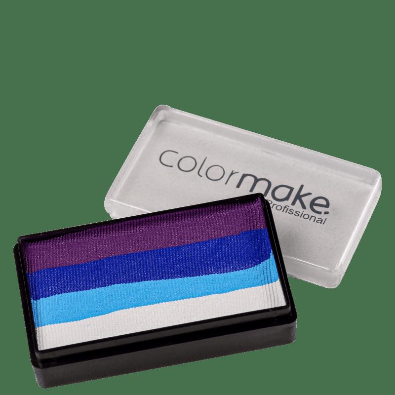 Colormake Blocks Roxo, Azul Escuro, Azul Claro e Branco - Tinta 30g