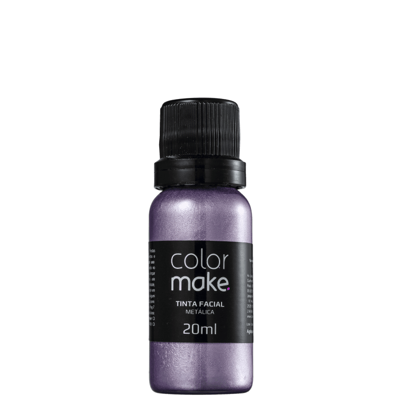 Colormake Metálica Lilás - Tinta Líquida 20ml