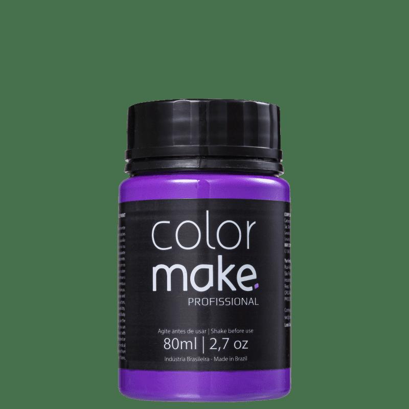 Colormake Profissional Roxo - Tinta Líquida Facial 80ml