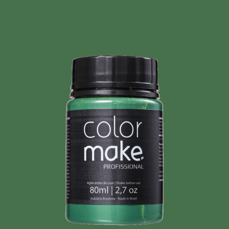 Colormake Profissional Verde - Tinta Líquida Facial 80ml