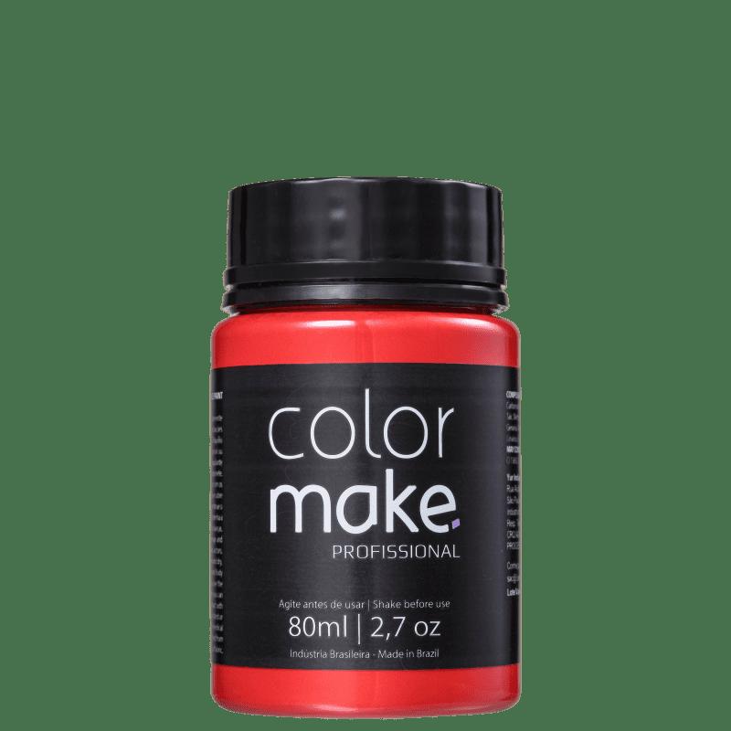 Colormake Profissional Vermelho - Tinta Líquida Facial 80ml