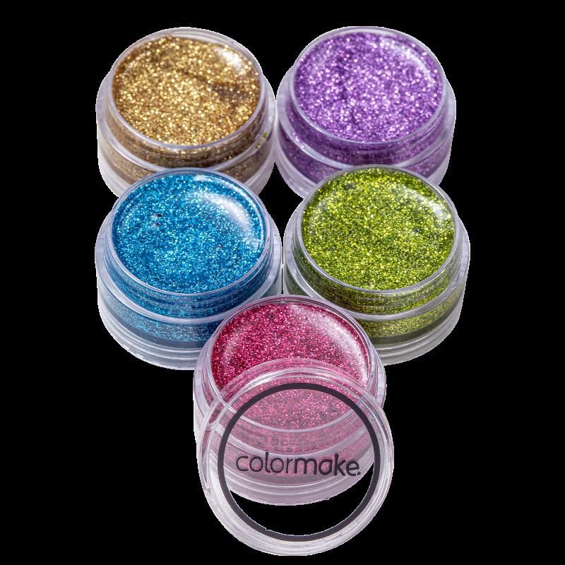 Kit Colormake Glitter Light (5 Unidades)