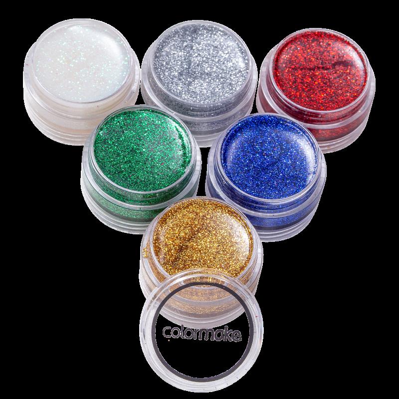 Kit Colormake Glitter Cremoso (6 Unidades)
