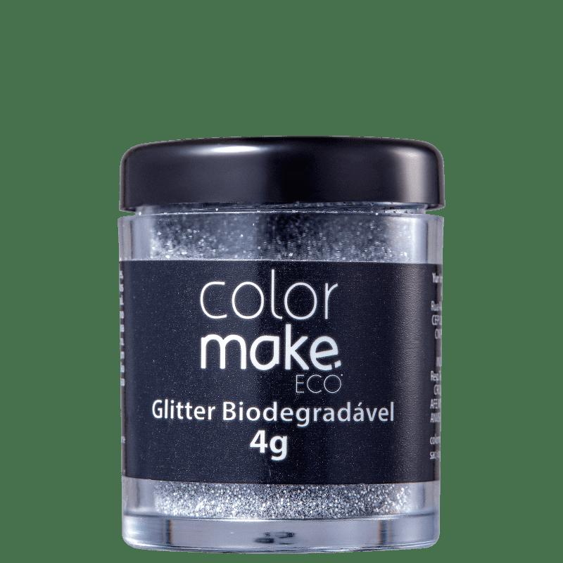 Colormake Eco Prata - Glitter Biodegradável 4g