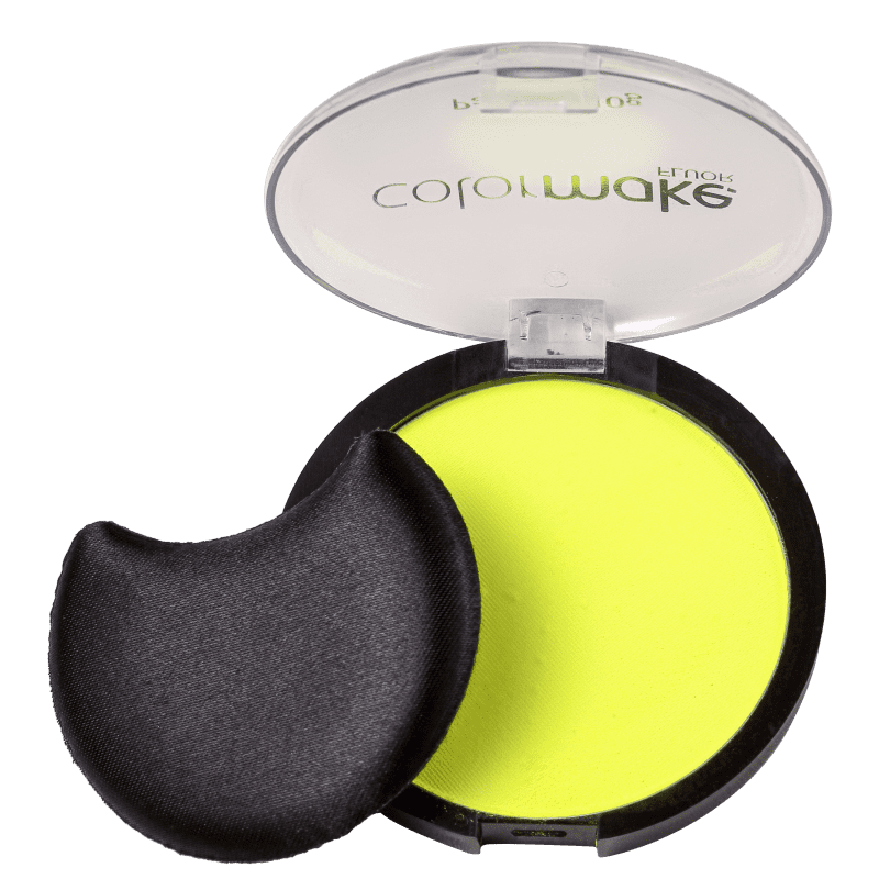 Colormake Pancake Fluorescente Amarelo - Base Compacta 10g