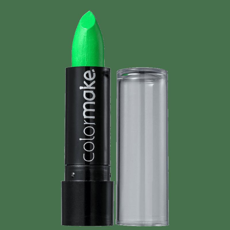 Colormake Fluorescente Verde - Batom 3,5g
