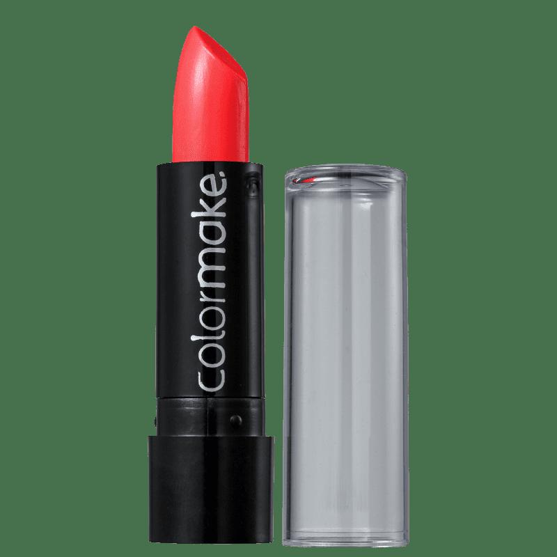 Colormake Fluorescente Vermelho - Batom 3,5g
