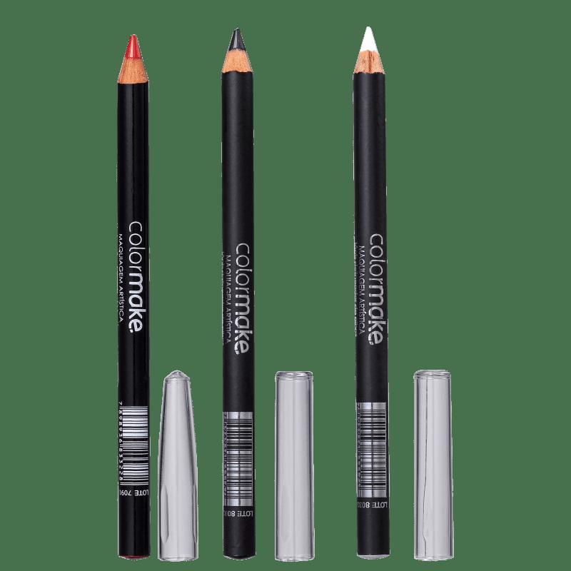 Kit Colormake Delineadores (3 Unidades)