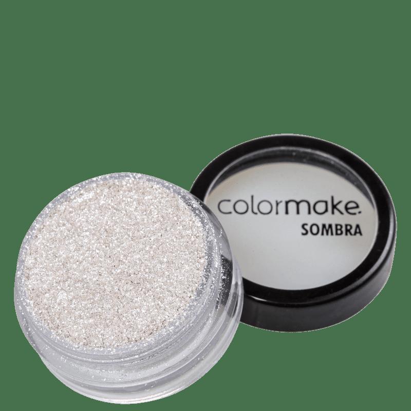 Colormake Iluminadora Glitter Branco - Sombra Cintilante 2g