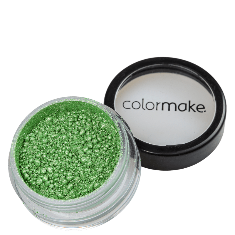 Colormake Iluminadora Verde - Sombra Cintilante 2g