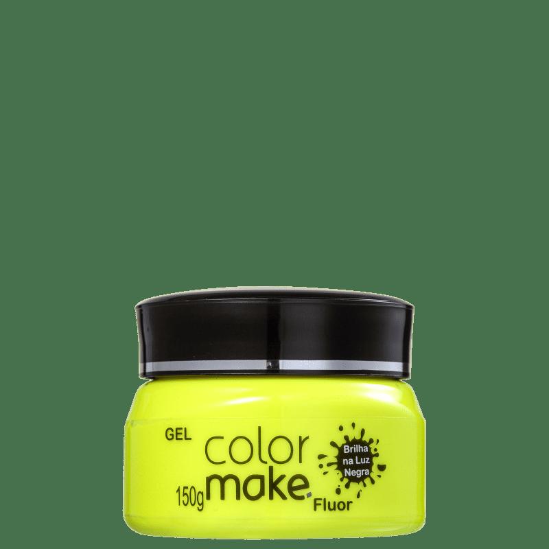 Colormake Fluor Amarelo - Tinta em Gel 150g