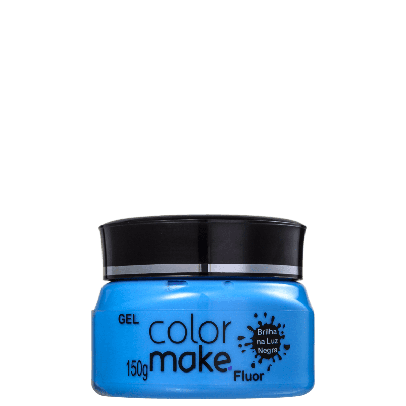Colormake Fluor Azul - Tinta em Gel 150g