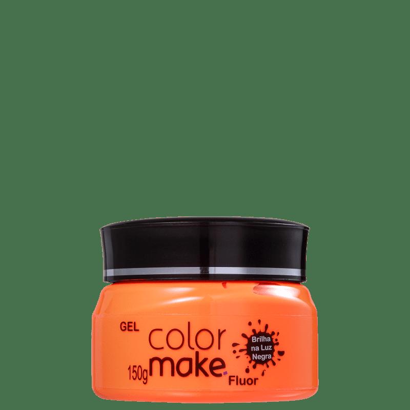 Colormake Fluor Laranja - Tinta em Gel 150g