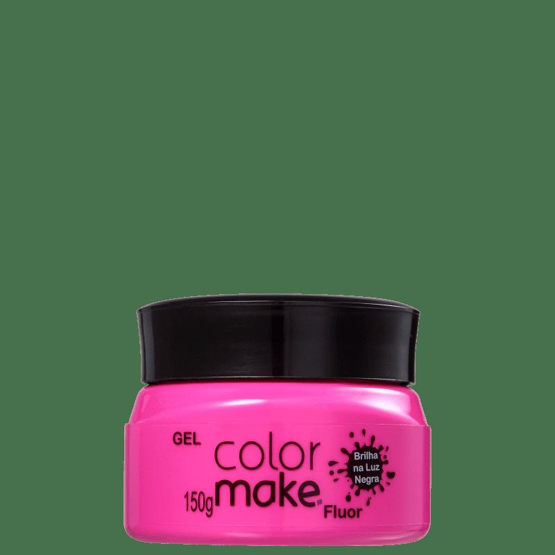 Colormake Fluor Pink - Tinta em Gel 150g