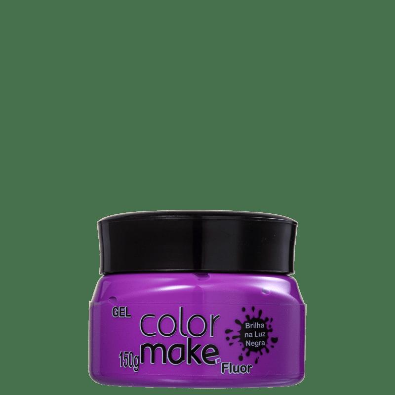 Colormake Fluor Roxo - Tinta em Gel 150g