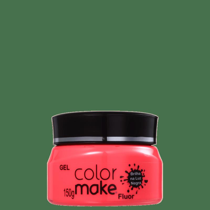 Colormake Fluor Vermelho - Tinta em Gel 150g