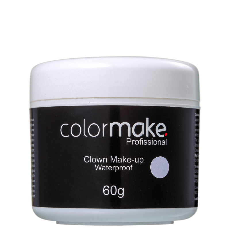 Colormake Clown Makeup Branco - Tinta Cremosa 60g