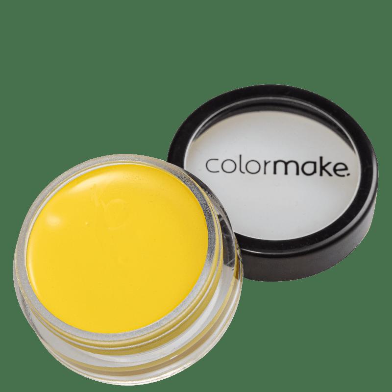 Colormake Mini Clown Makeup Amarelo - Tinta Cremosa 8g
