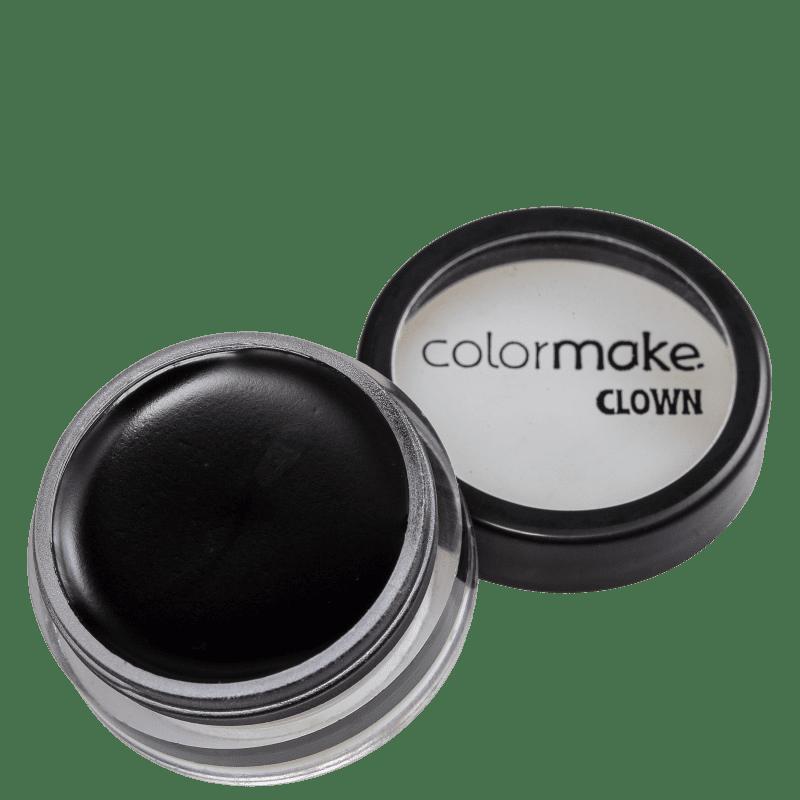Colormake Mini Clown Makeup Preto - Tinta Cremosa 8g