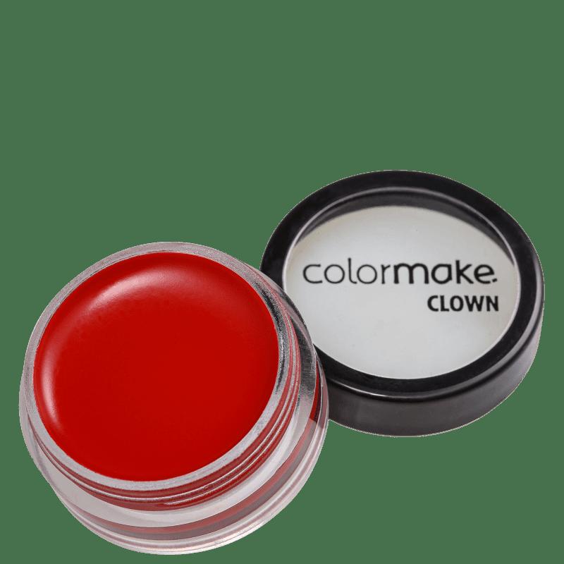 Colormake Mini Clown Makeup Vermelho - Tinta Cremosa 8g