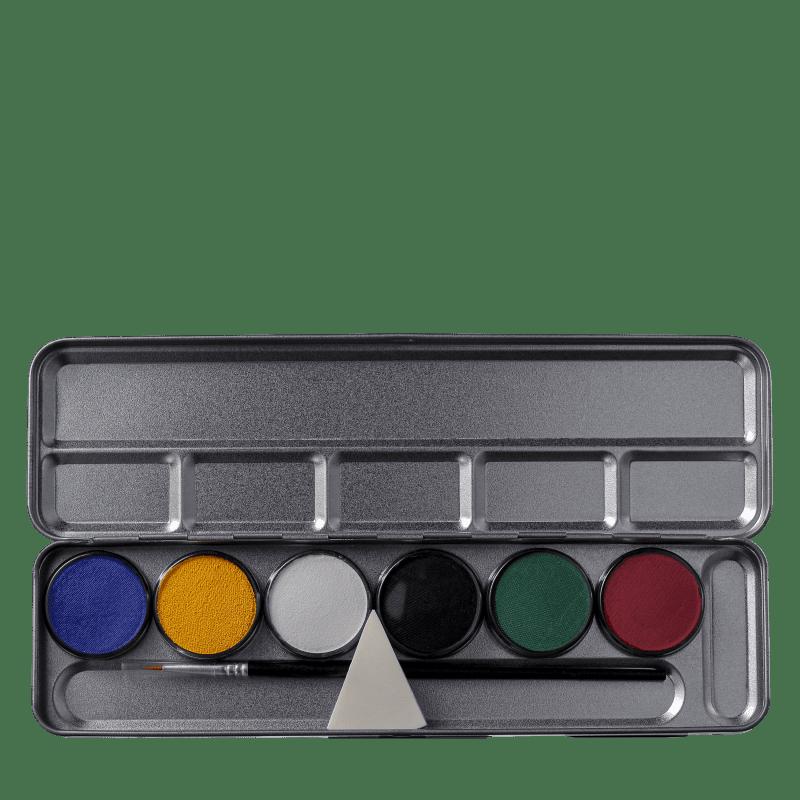 Colormake Aqua Cores Primárias - Paleta de Maquiagem 23g