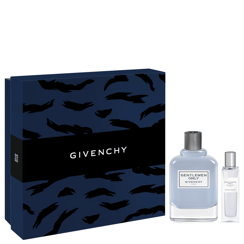 Conjunto Gentlemen Only Givenchy Masculino - Eau de Toilette 100ml + Travel Size 15ml