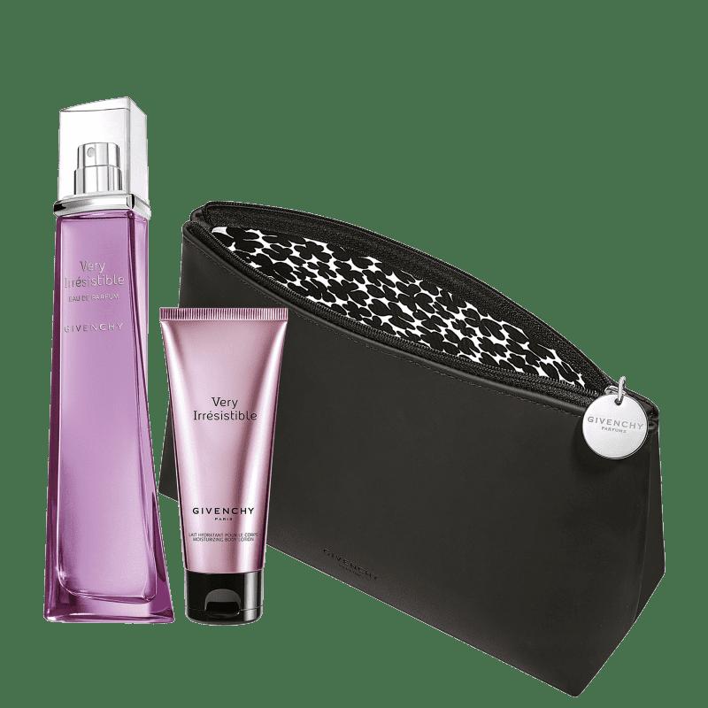 Conjunto Very Irresistible Givenchy Feminino - Eau de Parfum 75ml + Loção Corporal + Nécessaire
