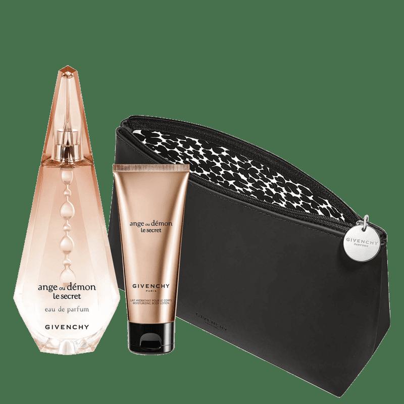 Conjunto Ange ou Démon Le Secret Givenchy - Eau de Parfum 100ml + Loção Corporal 75ml + Nécessaire