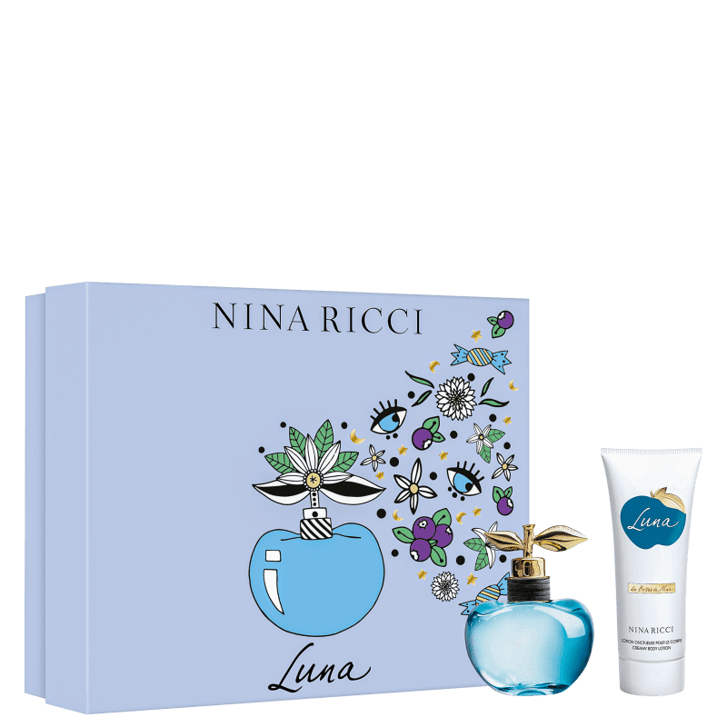 Conjunto Luna Body Nina Ricci Feminino - Eau de Toilette 80ml + Loção Corporal 100ml