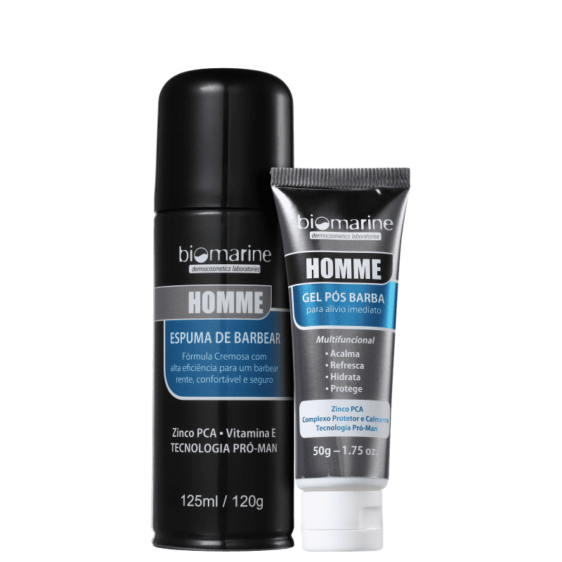 Kit Biomarine Barbear Refrescante (2 Produtos)