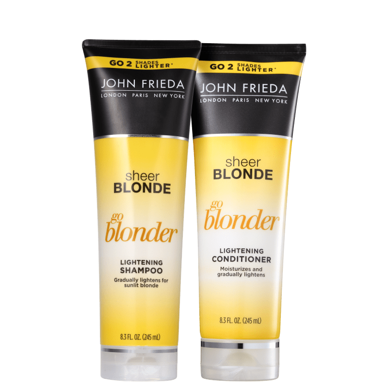 Kit John Frieda Sheer Blonde Go Blonder Lightening Duo (2 Produtos)
