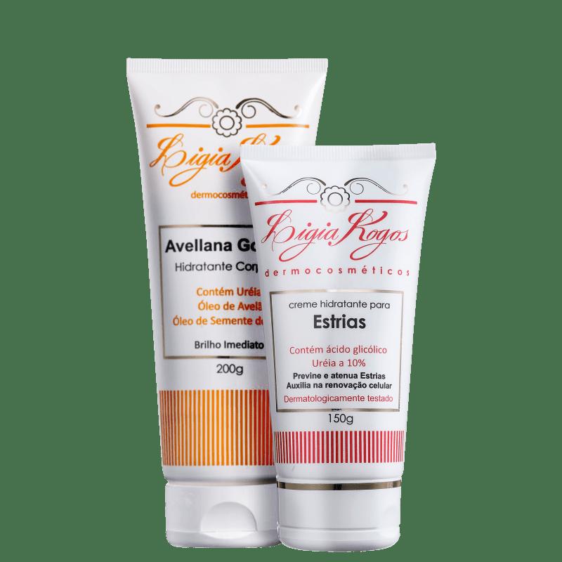Kit Lígia Kogos Hidratação Avellana (2 Produtos)