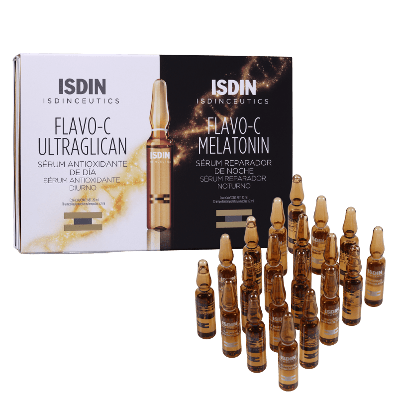 Kit ISDIN Isdinceutics Flavo-C (2 Produtos)