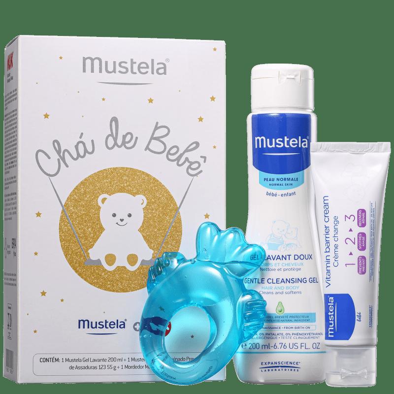 Kit Mustela Chá de Bebê (3 Produtos)