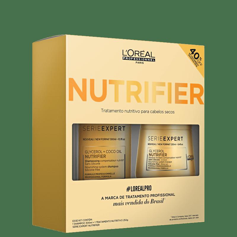 Kit L'Oréal Professionnel Nutrifier Tratamento (2 Produtos)