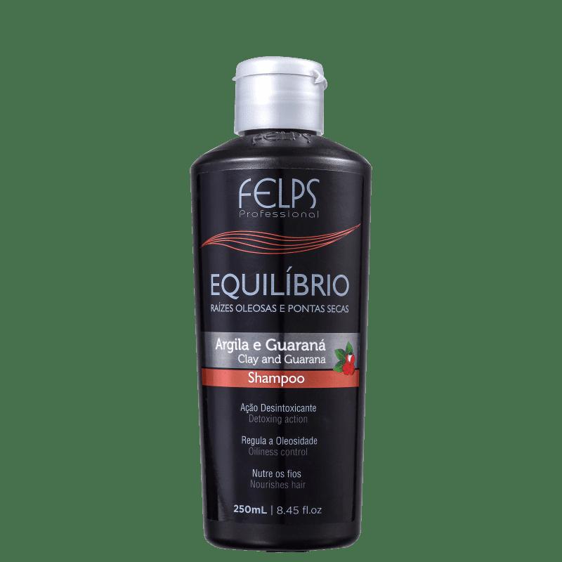 Felps Profissional Argila e Guaraná Equilíbrio - Shampoo 250ml
