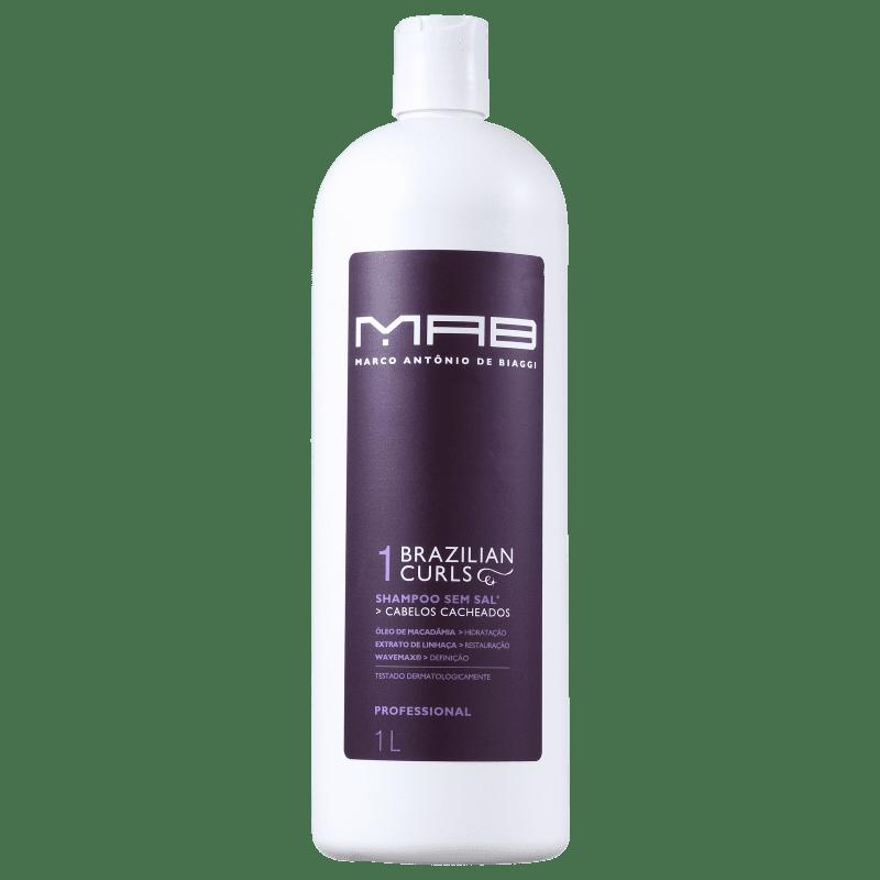 MAB Marco Antônio de Biaggi Brazilian Curls - Shampoo 1000ml
