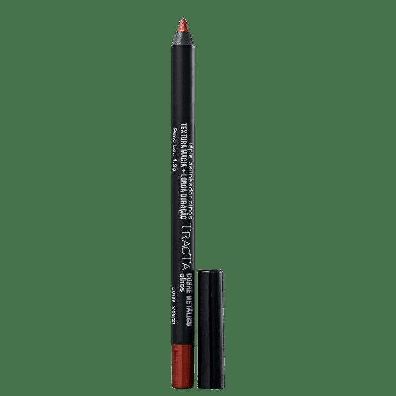 Tracta Cobre Metálico - Lápis Delineador 1,2g