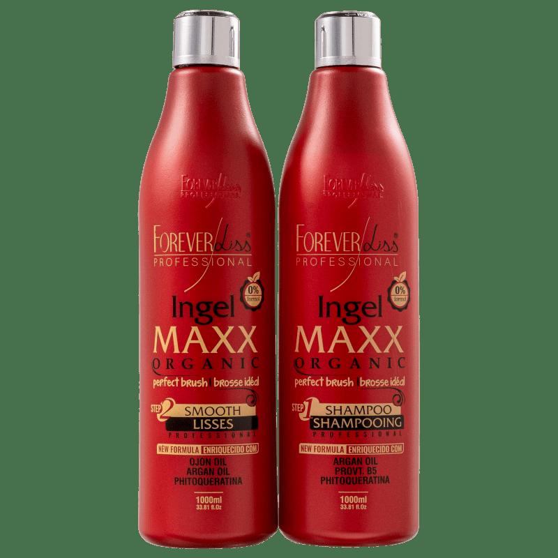 Kit Forever Liss Professional Ingel Maxx Organic (2 Produtos)