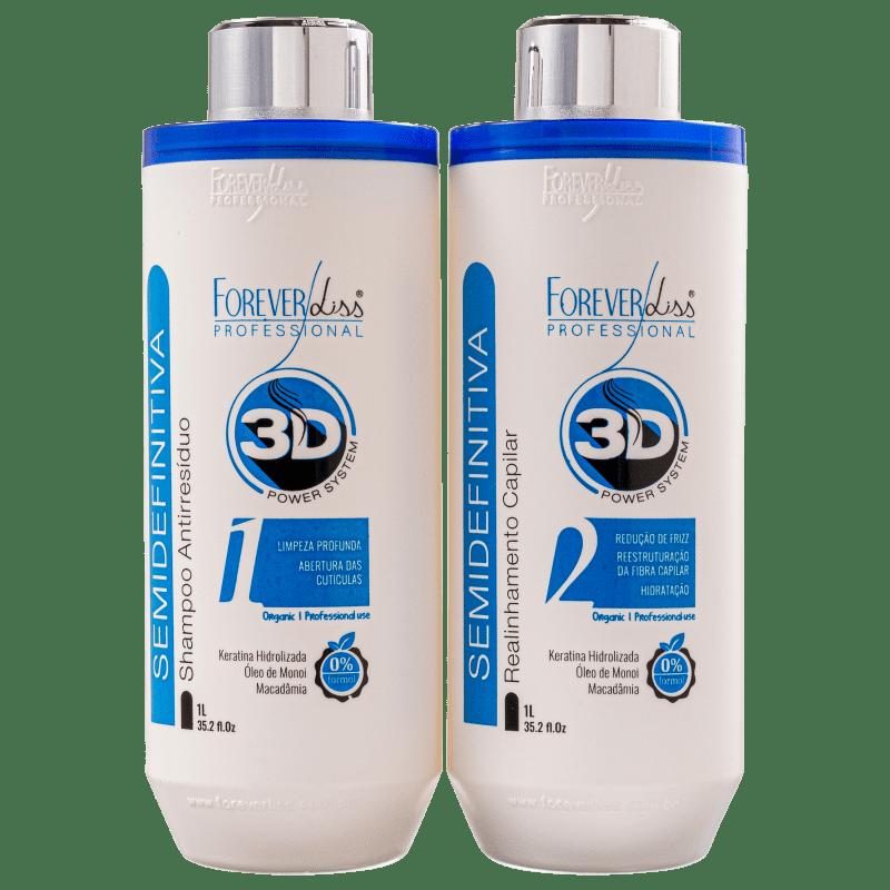 Kit Forever Liss Professional Semidefinitiva (2 Produtos)