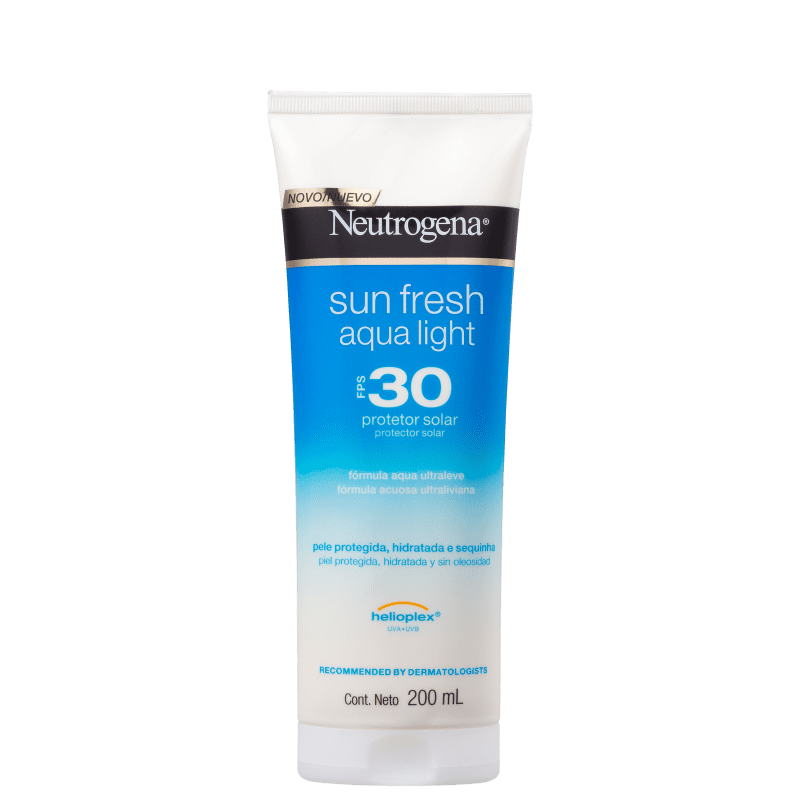 Neutrogena Sun Fresh Aqua Light FPS 30 - Protetor Solar 200ml