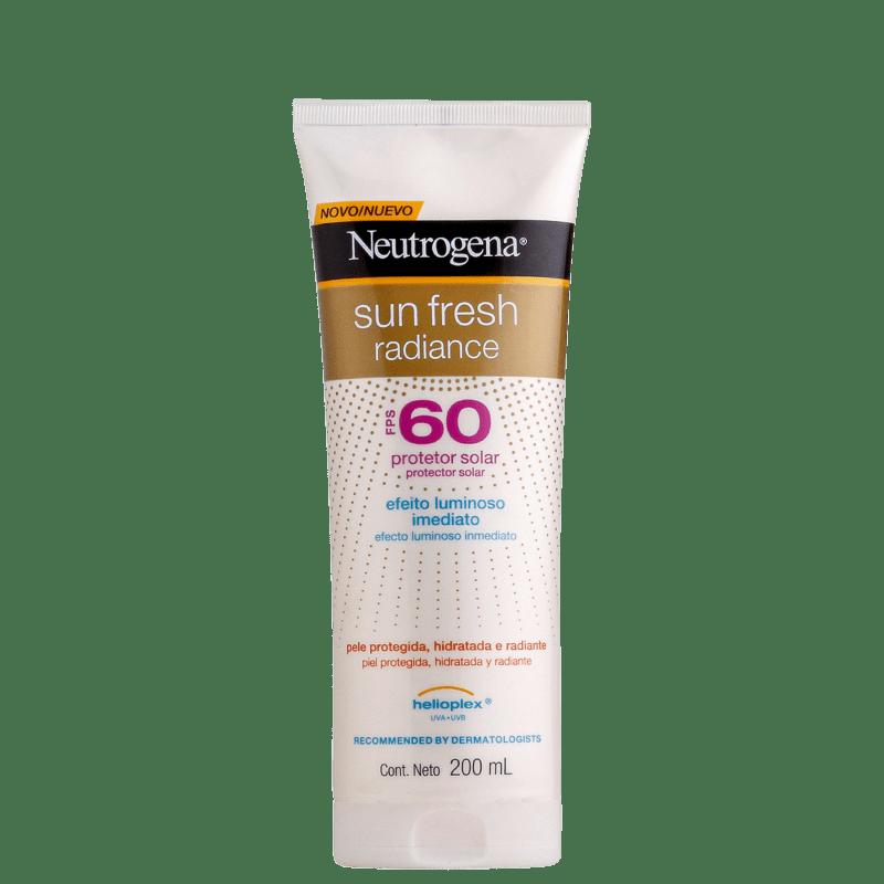 Neutrogena Sun Fresh Radiance FPS 60 - Protetor Solar 200ml